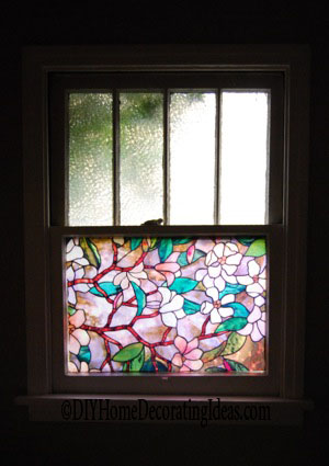 decorative window film for the home